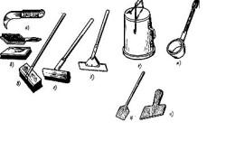 Инструменты и инвентарь, применяемые при устройстве гидроизоляции