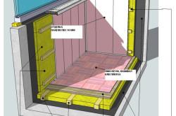 Общая схема утепления и гидроизоляции балкона