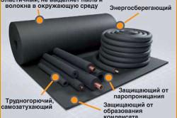 Преимущества вспененного каучука в качестве теплоизоляции
