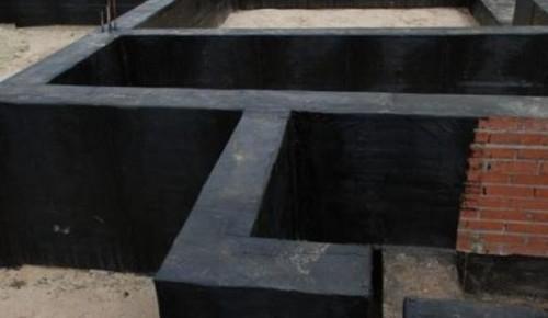 как мне сделать гидроизоляцию такой конструкции, как монолитный фундамент?