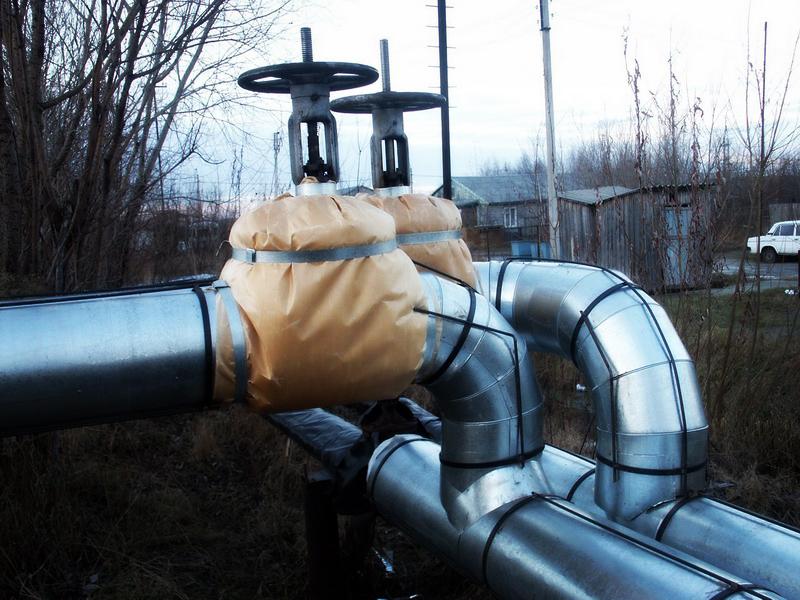 Изолированный трубопровод
