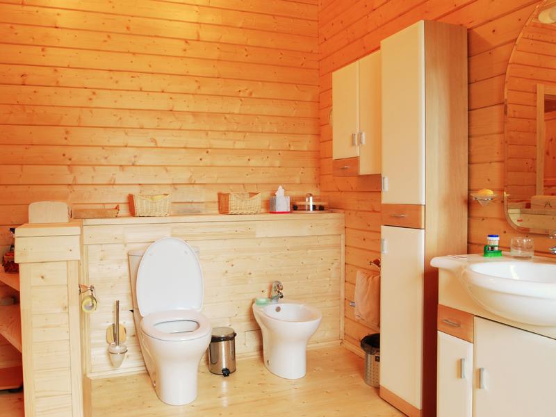 Как сделать ванную в деревне 686