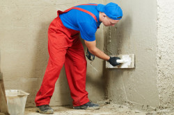 Затирка бетонного основания