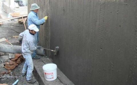 Гидроизоляция бетонных стен